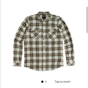 o'neill glacier plaid long sleeve shirt